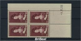 SAAR 1956 Nr 377 VB Mit Druckdatum Postfrisch (83769) - Allemagne