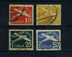 DANZIG 1938 Nr 298-301 Gestempelt (109842) - Dantzig
