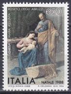 Italien Italy 1988 Religion Christentum Weihnachten Christmas Noel Navidad Natale Gemälde Paintings Celommi, Mi. 2066 ** - 1981-90: Ungebraucht