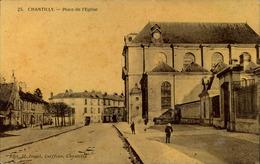 N°1672 RRR AL CHANTILLY PLACE DE L EGLISE - Chantilly