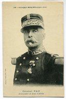 CPA - Carte Postale - Militaria - Général Pau (M7078) - Personen