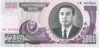 North Korea - Pick 46 - 5000 Won 2006 - Unc - Corea Del Nord