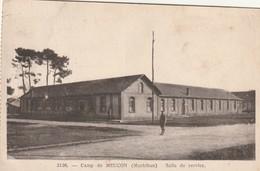 Rare Cpa Le Camp De Meucon La Salle Des Services - Other Municipalities