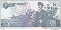 North Korea - Pick 40 - 5 Won 1992 - 1998 - Unc - Korea, North