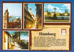 Deutschland; Hamburg; Multibildkarte - Mitte