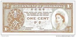 Hong Kong - Pick 325c - 1 Cent 1981-1986 - Unc - Hong Kong