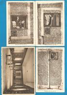 (G032) BONNE-ESPERANCE - Bibliothèque Des Moines - Manuscrits Et Enluminures Fin Du XIIIe Siècle - Estinnes