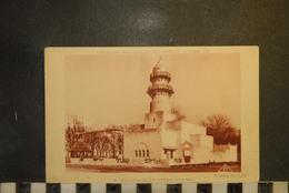 CP, PARIS, EXPOSITION COLONIALE PARIS 1931 - Pavillon De La Côte Française Des Somalis, Publicité VAN HOUTEN  Verso - Expositions