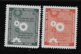 United Nations UN 1958 Economic And Social Council MNH - Ungebraucht