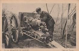 Rare Cpa L'artillerie La Rédaction Du Rapport - 1914-18