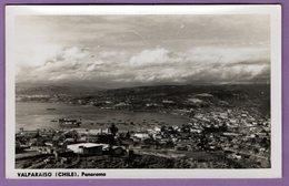 Amerique Du Sud Chili Valparaiso Panorama Port  - 8.9 Cm Par 14 Cm - Carte Non Ecrite - - Chili