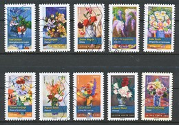 FRANCE - ADHESIFS - Les Fleurs - Adhesive Stamps