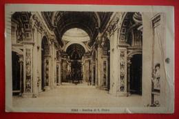 ITALIA - ROMA , VATICANO - BASILICA DI SAN PIETRO - San Pietro