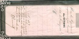 Actions Manufacture St Maurice Ernest Seillière Senones 1850 - Industrie