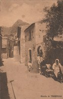 CP 1923 STRADA IN TAORMINA - Italia