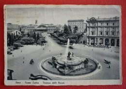 ITALIA - ROMA , PIAZZA ESEDRA - FONTANA DELLE NAIADI - Places & Squares