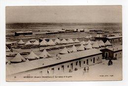 - CPA GUERCIF (Maroc) - Le Camp Et La Gare - Photo J. Geiser N° 15 - - Autres