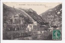 CPA 30 MADIERES Chute De L'usine Hydro Electrique - France