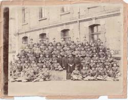 Rare Photo 25 X 18 Cm Soldats Du 51 RI De La 9 E Compagnie - 1914-18