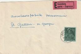 Lot 3 Lettres Dont 1fr Seul Sur Lettre EXPRES - Suisse