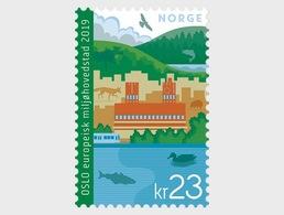 Norwegen 'Oslo Europäische Grüne Hauptstadt' / Norway 'Oslo European Green Capital' **/MNH 2019 - Umweltschutz Und Klima