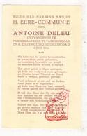 Plechtige Communie - Antoine Deleu Passendale 1944 / Zonnebeke - Communion