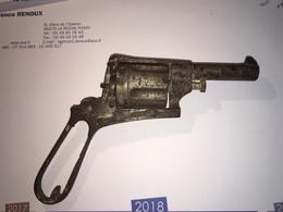 Revolver Gasser 19eme - Sammlerwaffen