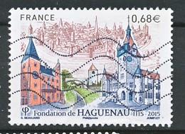 TIMBRE - FRANCE - 2015 - Haguenau - Usati