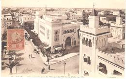 POSTAL    SFAX EN TUNEZ   -MINARET  DE L'HÔTEL DE VILLE - Túnez