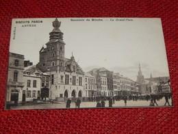 BINCHE  -  La Grand'Place  -  Souvenir De Binche  - - Binche