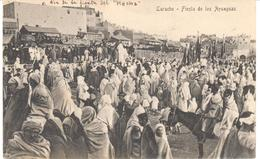 POSTAL   LARACHE  -MARRUECOS  -FIESTA DE LOS 'AYSAGUAS - Marruecos