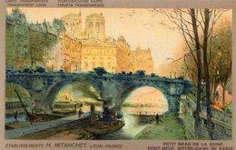 CARTE TRANSPARENTE(PARIS) PUBLICITE LYON - Hold To Light