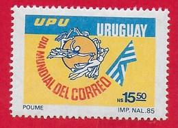 URUGUAY MNH - 1986  World Post Day - 15,50 N$ - Michel UY 1724 - Uruguay