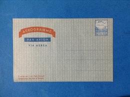 1960 ITALIA AEROGRAMMA POSTALE NUOVO MNH** POSTA AEREA 60 LIRE - Entiers Postaux