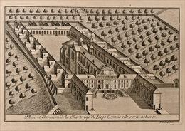 Vue De La Chartreuse à Liège En 1738 - Prints & Engravings