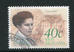 NOUVELLE-ZELANDE- Y&T N°1066- Oblitéré - Nouvelle-Zélande