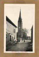 CPA - MORIVILLE (88) - Aspect Du Quartier De L'Eglise Dans Les Années 20 - Other Municipalities