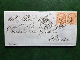 (15482) STORIA POSTALE ITALIA 1866 - 1861-78 Vittorio Emanuele II