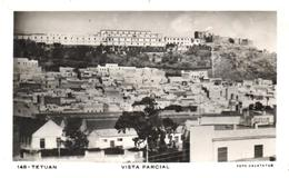 POSTAL   TETUAN  -MARRUECOS  - VISTA PARCIAL (FOTO CALATAYUD) - Marruecos