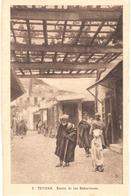 POSTAL   TETUAN  -MARRUECOS  - BARRIO DE LOS BABUCHEROS - Marruecos