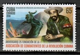 Cuba 2018  / Revolution Fighter Juan Ameida MNH Revolucionario Combatiente / Cu11332  C3 - Nuevos