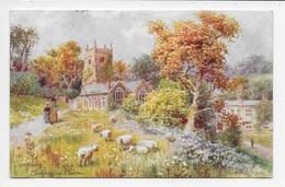 Torquay - Cockington Church - H.B. Wimbush - Tuck Oilette 7368 - Torquay