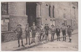 Bois-Colombes, Hôpital Auxiliaire, Rue Des Carbonnets, Scouts - France