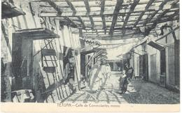 POSTAL   TETUAN  -MARRUECOS  - CALLE DE COMERCIANTES MOROS - Marruecos