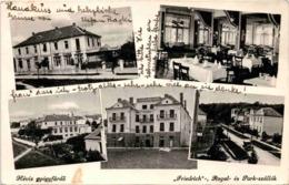 Hévíz - 5 Bilder * 23. 8. 1934 - Ungarn