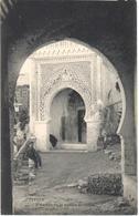 POSTAL   TETUAN  -MARRUECOS  - MEZQUITA DE LA PUERTA DE CEUTA - Marruecos