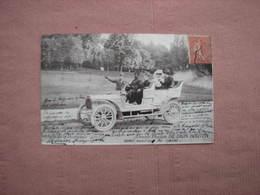 Carte Postale 1912 Voiture DE DION BOUTON  Double Phaeton   TBE - Voitures