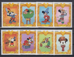 GHANA 1994 - Disney Mickey Mouse - Mi 1948-55; CV=17 € - Bandes Dessinées