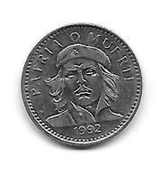(Monnaies). Cuba. 3 Pesos 1992 Che Gevera TBE - Cuba