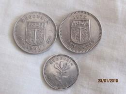 Rhodesia: 3 Coins UDI's Time - Rhodésie